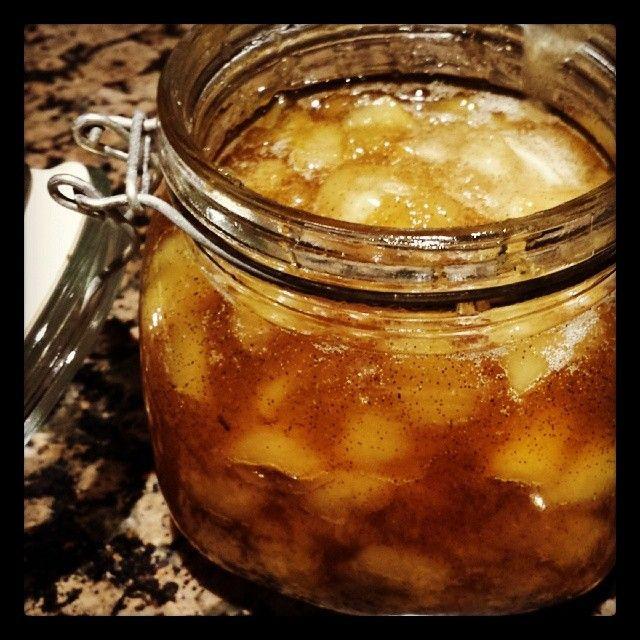 Asian Pear, Ginger and Vanilla Bean Jam.                                                                                                                                                                                 More