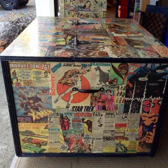 Comic Book Room Ideas: 17 Best Images About Comic Furniture On Pinterest