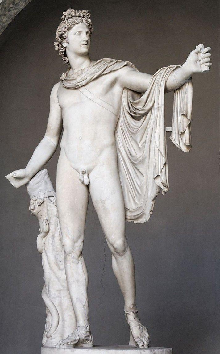 Apollon du Belvédère – Attribué à Léocharès (antiquité grecque)
