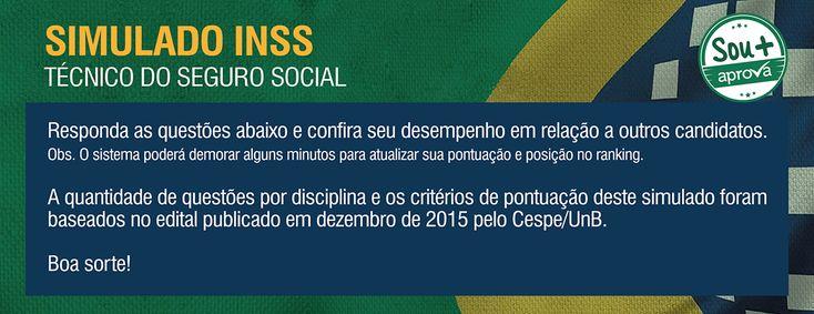 Gabarito - Simulado - INSS 2016