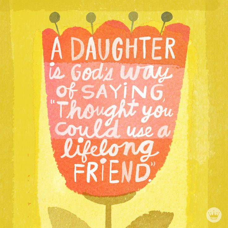 Beautiful quote about motherhood and daughters from Hallmark.