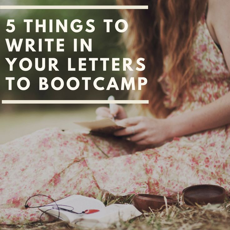 Here are some tips for what to write when you send a letter to your service member.