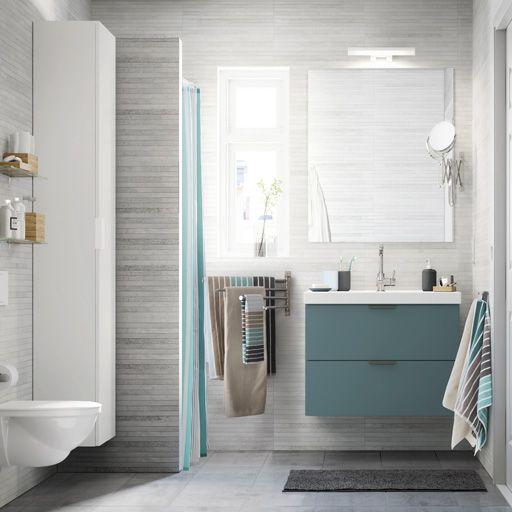 Best 25 Ikea Bathroom Lighting Ideas On Pinterest  Barn Light Entrancing Ikea Small Bathrooms Design Ideas