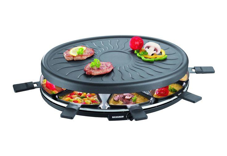 Severin Raclette RG 2681.902, 8 Raclettepfännchen