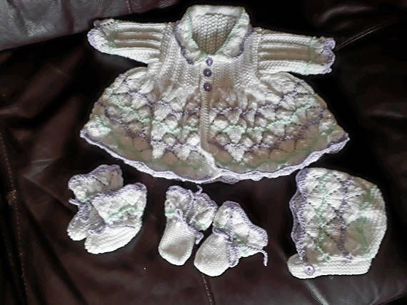 Check out this item in my Etsy shop https://www.etsy.com/uk/listing/534090173/hand-knitted-4-piece-matinee-set