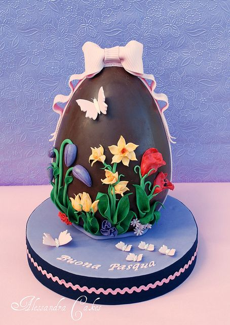 Easter Egg. Uovo di Pasqua -Happy Easter!!!! by Alessandra Cake Designer, via Flickr