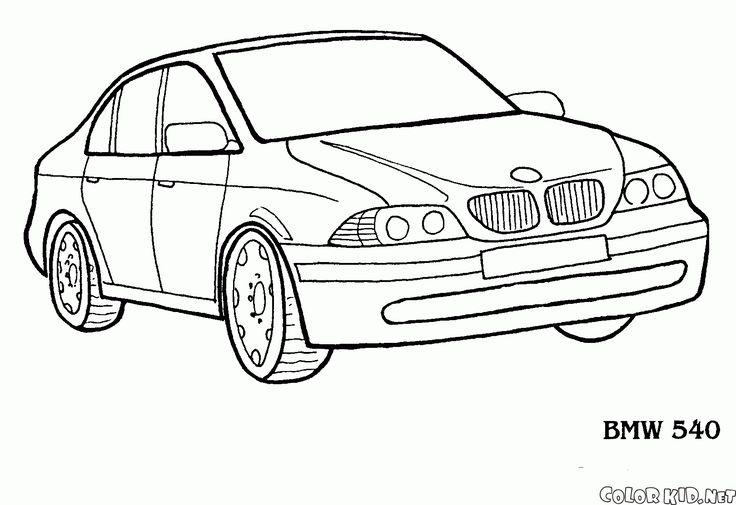 Coloring page Nissan Primera