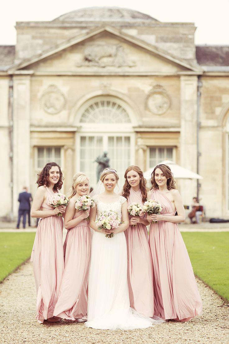 Die besten 25 mehrwegkleid fr brautjungfer ideen auf pinterest elegant romantic classic pale pink wedding ombrellifo Images