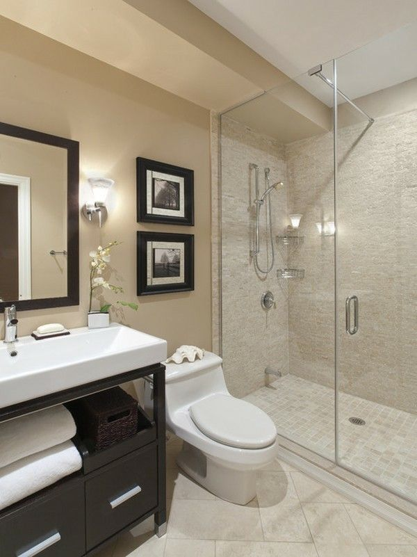 modern bathroom designs%0A simple bathroom designs can be the right solution for any bathroom sizes  you have  You can apply this design to small or large bathroom size