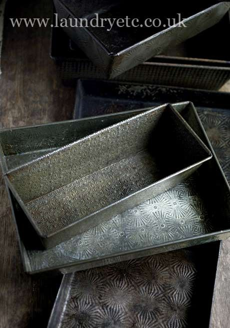 vintage baking tins - prismatic