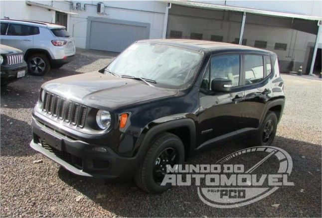 Jeep Renegade 1 8 Automatico Para Pcd 2018 Jeep Renegade Jeep