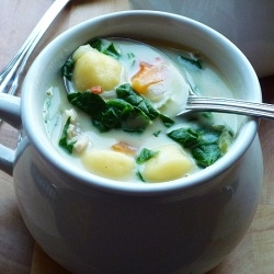 Creamy Chicken Gnocchi Soup by abbe101