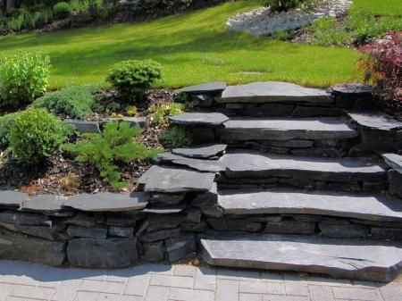 slate stairs (Finnish style)