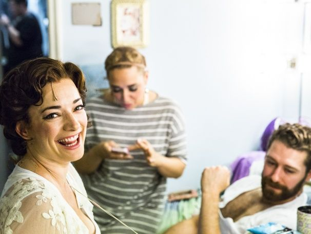 Finding Neverland - Backstage Feature - 8/15 - Laura Michelle Kelly and Matthew Morrison -  Jessica Vosk