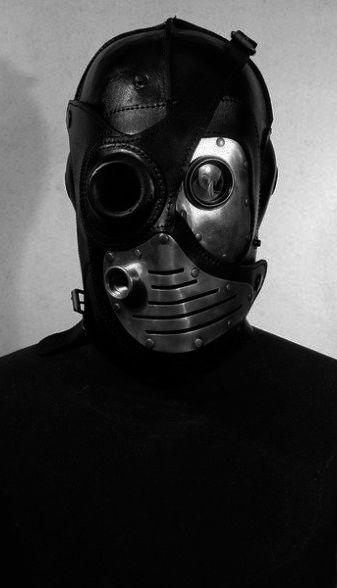 Steampunk Leather Mask | by Bob Basset