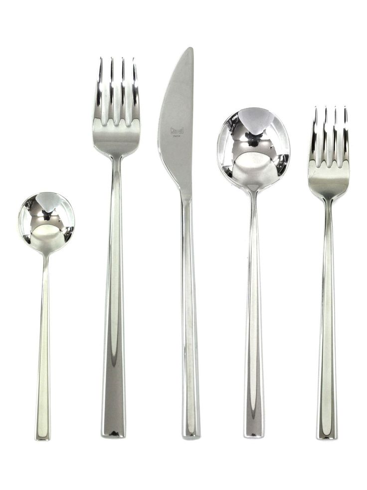 Movida Stainless Steel Cutlery Set (5 PC) by Mepra at Gilt