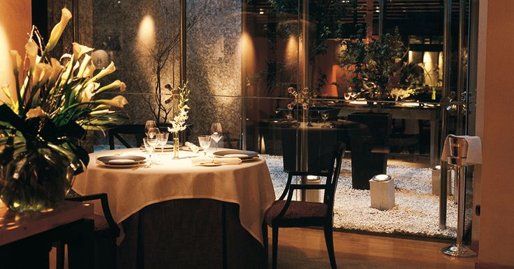 Restaurante Santcelon in #Madrid where Óscar Velasco will delight with his culinary philosophy: traditional but contemporary with a wild flourish. #RelaisChateaux #Spain #CulinaryArt