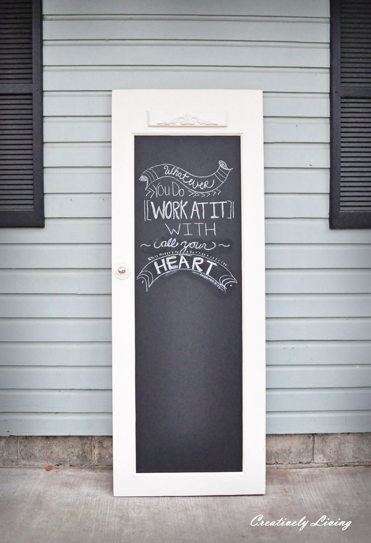 {click to enlarge}Can you believe this is Part Four of our littleDécorQuick Tip series on awesome things to do with old reclaimed doors… and there is still a couple DIY door ideas left to e…