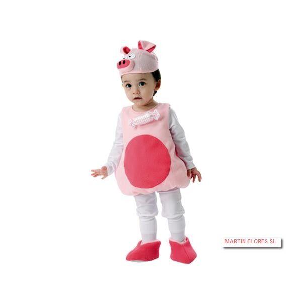 Disfraz de cerdita Peppa Pig para cumple infantil. Mucha más variedad en www.martinfloress... #Carnaval #sevilla @Martin_flores_ Piñata, platos, vaso, mantel, globos, de Peppa Pig