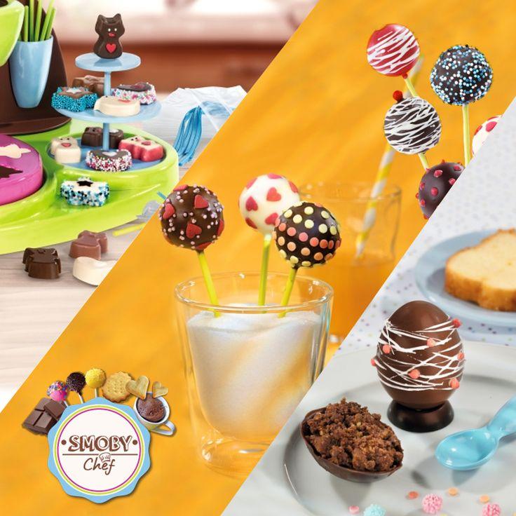 Sprawdź fabrykę czekolady od Smoby. Teraz w prezencie fartuszek gratis! #chef #fabrykaczekolady #zabawki