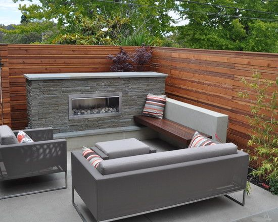 Outdoor Gas Fireplace Design, Pictures, Remodel, Decor and Ideas