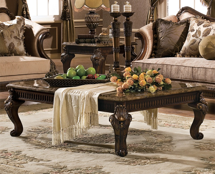 Living Room. Love Marge Carson Furniture!