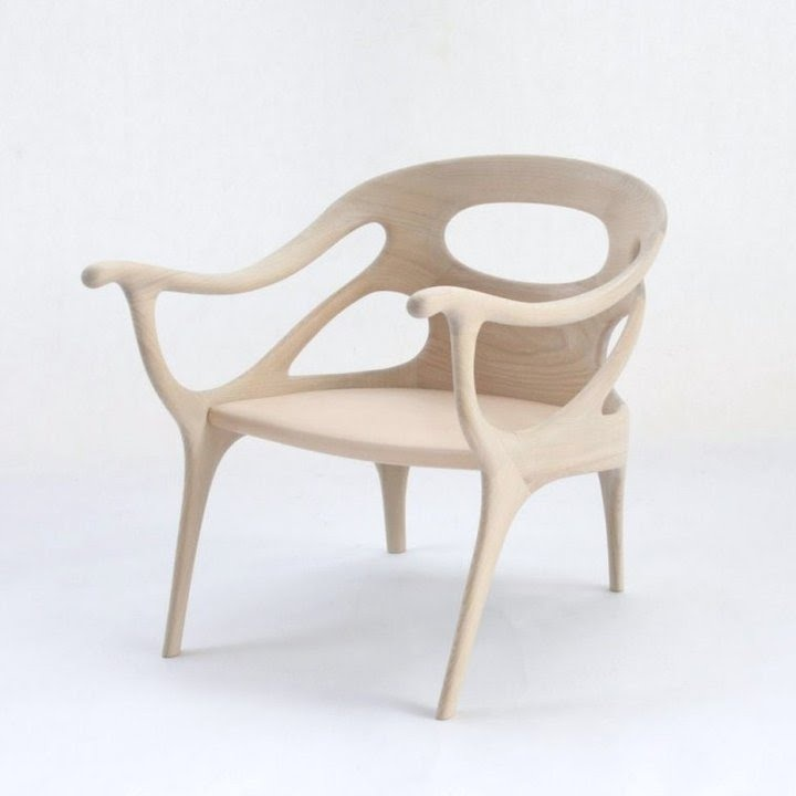 Danish Designer Helle Damkaer Has Created A Set Of Chair And Stool Called K  Chair And K Plus For Japanese Furniture Manufacturer Kitani.