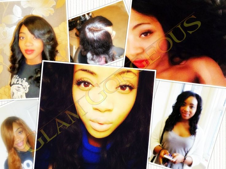Weaves including Classic Closure Weave, Weaves with Lace Closure, Sew in Track Weave