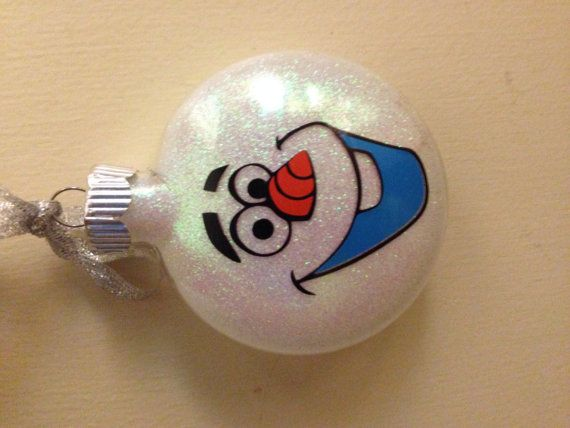 Hey, I found this really awesome Etsy listing at https://www.etsy.com/listing/199798798/custom-disney-frozen-olaf-ornament-with