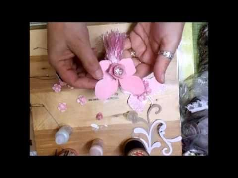 Fiona Jennings as jennings644 - Shabby Chic Butterfly Tutorial - time 9:24; June 12, 2013