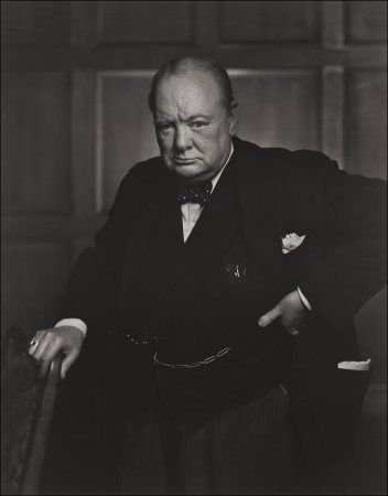 "Portrait of Winston Churchill ""The Roaring Lion"" (1941) – Yousuf Karsh (on 7 lists) The Canadian government hired Turkish-born Armenian-Canadian photographer Yousuf Karsh (1908-2002) to photograph British Prime Minister Winston Churchill when he came to Ottawa to speak to the Canadian House of Commons on December 30, 1941, in the depths of World War II. When Churchill arrived, cigar in mouth, he brusquely told Karsh that he had only two minutes to take the picture."