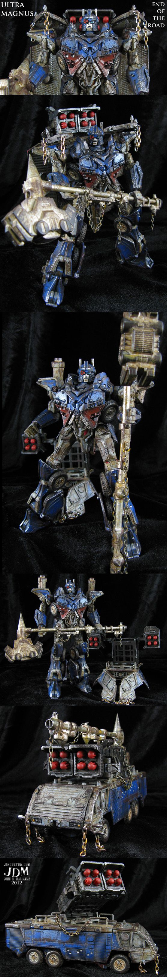 End of the Road custom Ultra Magnus Transformers by *Jin-Saotome on deviantART