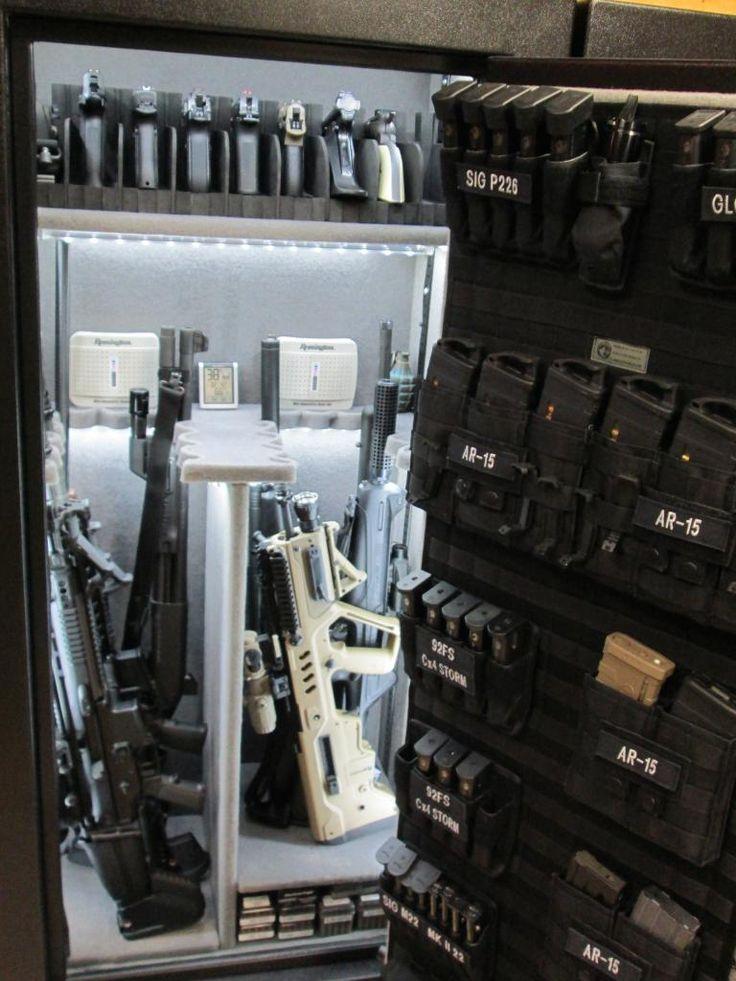 Pimp My Gun Safe 2015 Doing It With Twins Led Lights