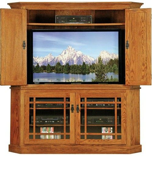 17 best ideas about corner entertainment centers on pinterest corner tv corner tv shelves and. Black Bedroom Furniture Sets. Home Design Ideas