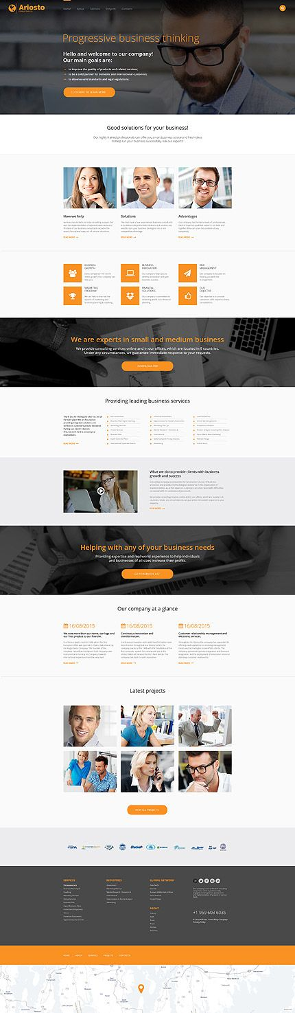 43 best business website templates images on pinterest business check out this consulting responsive website template learn all the technical features and requirements before you buy it pronofoot35fo Choice Image