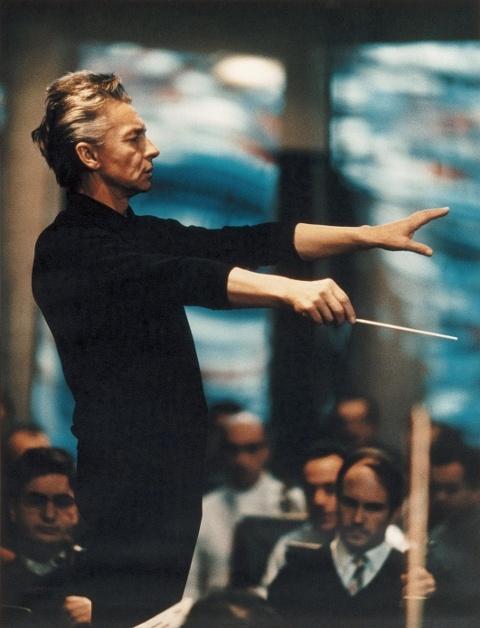 Herbert von Karajan by Siegfried Lauterwasser