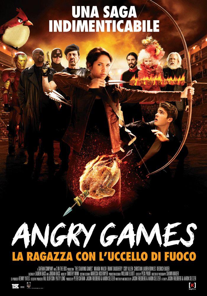 Angry Games - La ragazza con l'uccello di fuoco, dal 16 gennaio al cinema.