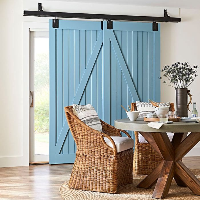 318 best the finishing touch images on pinterest guest for Sliding barn doors for patio