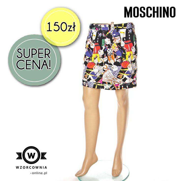 CENA DNIA: Super modna spódnica od #MOSCHINO   TUTAJ --> http://bit.ly/1iVaKvN  #spódnica #spódnice #wzory #trendy #promocja
