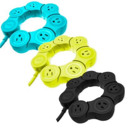 Quirky Pivot Power Strip - BedBathandBeyond.com