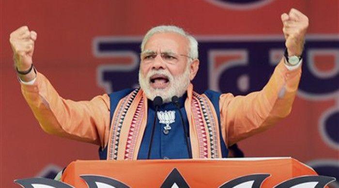 BJP leaders fight Uttar Pradesh elections on comunal planks.