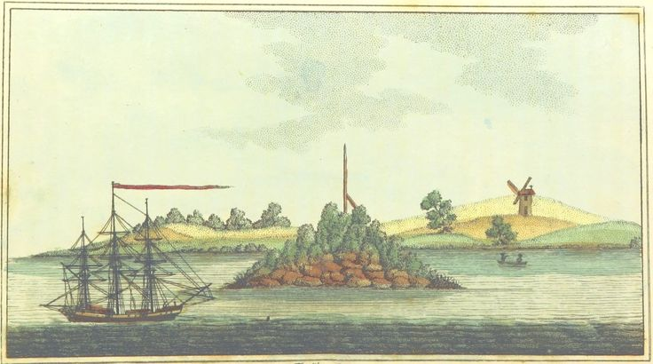 Pinchgut Island by Woodthorpe Pub. March 11, 1803, by M. Jones Paternoster Row