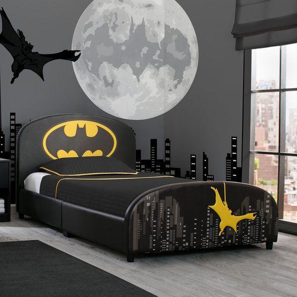 Dc Comics Batman Twin Platform Bed Batman Room Batman Bedroom