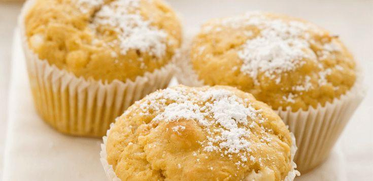 Muffin al cioccolato bianco - LEITV