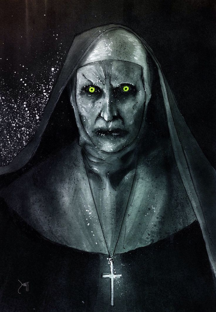 Valak from 'The Conjuring 2' by Devin Francisco