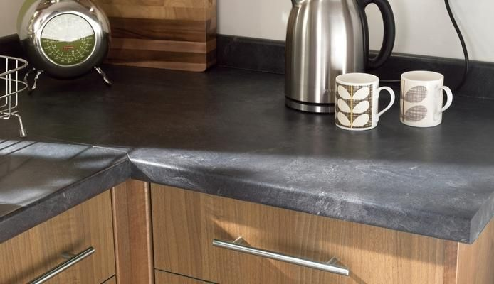 Formica Basalt Slate Honed Finish | Basalt Slate Honed Worktop and Upstand