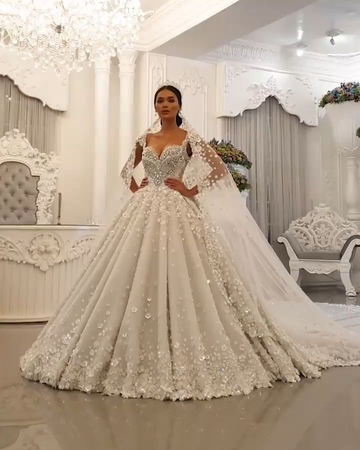 Extravagante Prinzessinen Brautkleider Online Bestellen ...