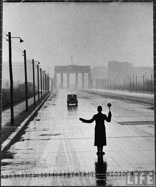 Ralph Crane - West Berlin, Germany, February 1953.