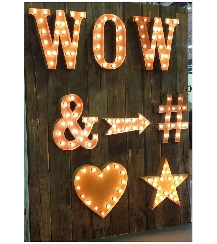 The ultimate fairground carnival style letter lights by Urban Industrialists. Perfect for commercial, retail or residential display. Created from distressed ...
