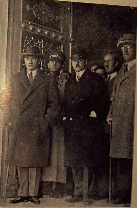 Gazi Mustafa Kemal Atatürk Ankara Türk Ocağı'nda, 24.11.1929